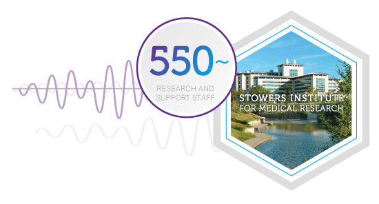 Stowers Institute for Medical Research: 150 ongoing research projects