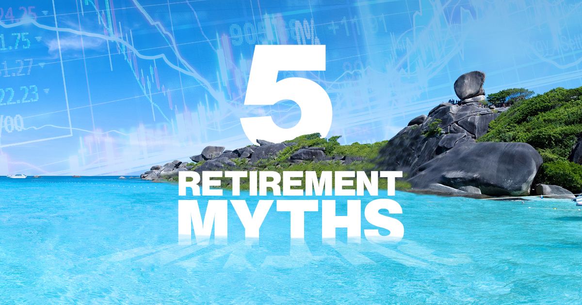 Approximately 10,000 Americans retire every day, but only 50 percent of them will have a great retirement. VP Michael Schoonmaker and Your Retirement Quest co-author Keith Lawrence tackle five myths that derail investors from their dream retirement.