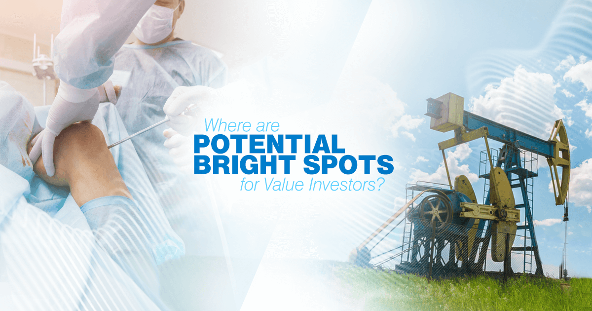 The market environment may be tough for value investors, but Sr. Portfolio Manager Mike Liss sees opportunities in three undervalued sectors.