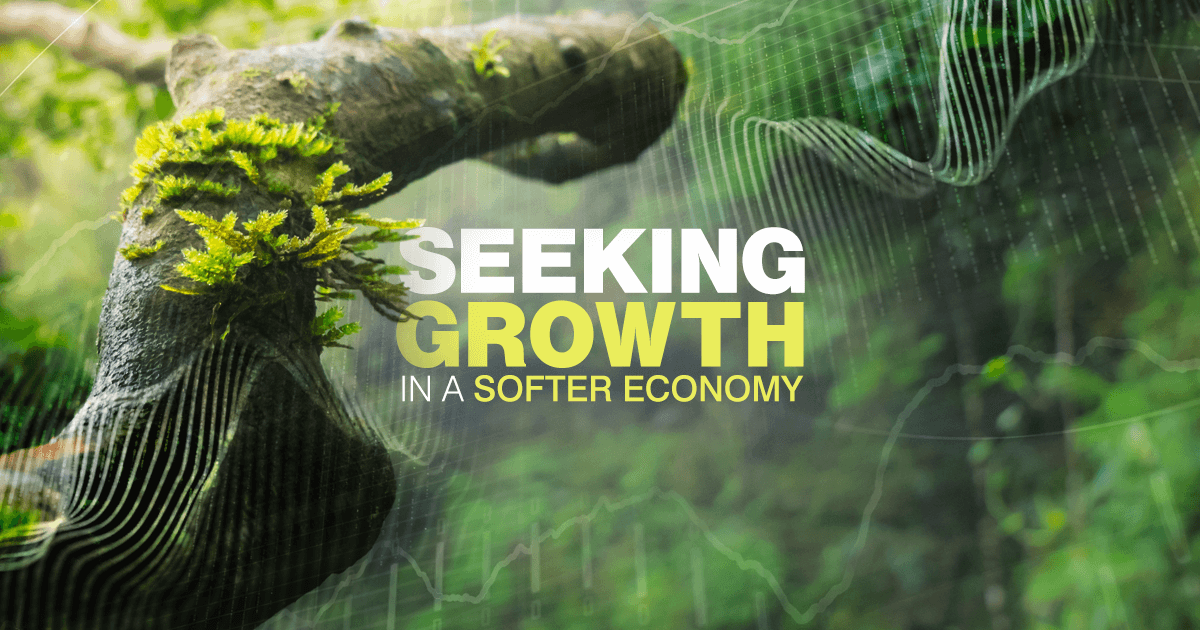 Economic activity around the world is softening, which Sr. Portfolio Manager Brent Puff believes could make finding future growth more challenging.